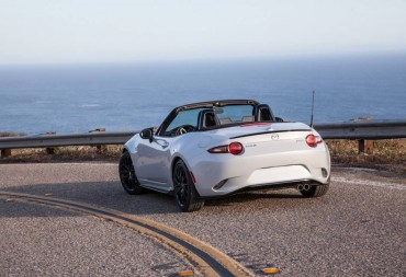 The 2016 Mazda Miata is handsomely styled from all angles.