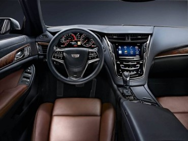 The Cadillac CTS interior is very comfortable and driver centered.