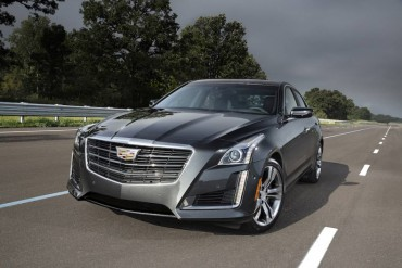 Handsome, chiseled features make the Cadillac CTS instantly recognizable.