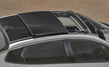 The optional panoramic sunroof really brightens the interior.