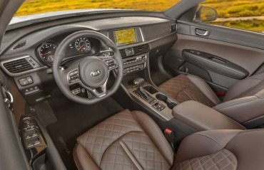 The interior features upscale materials and equipment. Legroom is phenomenal.