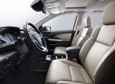 Seating comfort and controls are all first class in the Honda CR-V.