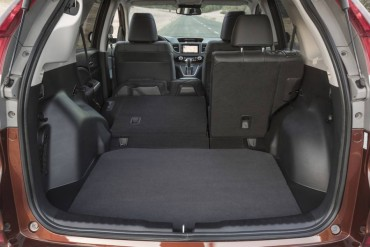 Split folding rear seats increase cargo capacity and flexibility.