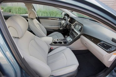 Excellent interior space is a big Sonata selling point. Lots of luxury features come in the Limited model.