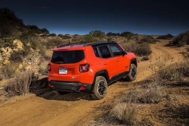 The Renegade has short overhangs and great approach/departure angles for rugged terrain.