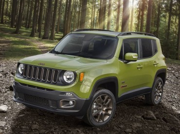 The 2016 Jeep Renegade is a compact SUV that's very capable in all types of weather and road conditions.,