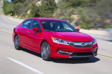 The 2016 Honda Accord Sport is a handsome mid-size sedan with excellent highway manners and ride quality.