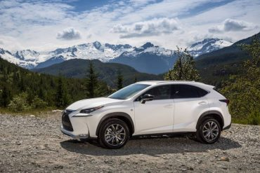 The 2016 Lexus NX 200t F Sport is well-equipped to hand rugged mountain roads as well as the urban jungle.