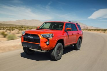 The Toyota 4Runner TRD Pro is rugged SUV capable of handling almost any terrain with ease.
