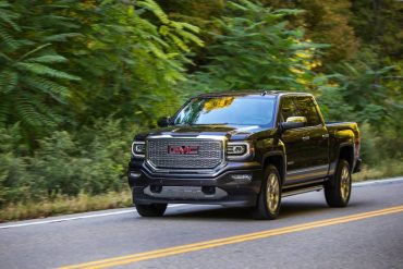 The GMC Sierra Denali is smooth and quiet out on the open road, unlike trucks of yore.