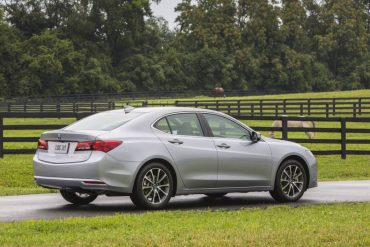 Acura TLX styling is handsome, but on the conservative side.