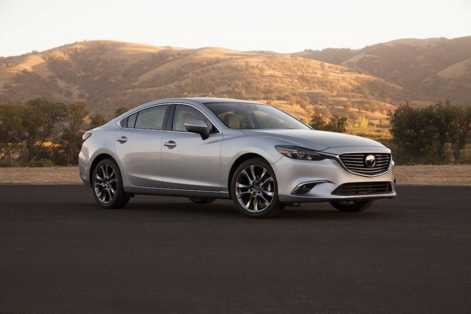 The 2016 Mazda6 Gt Is A Handsome Very Well Balanced Mid Size Sport Sedan
