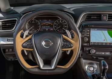 The thick, contoured, flat bottom, multi-function steering wheel is one of the best on any contemporary car.