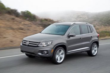 The 2016 VW Tiguan is the company's smallest SUV. It boasts pleasant highway manners.