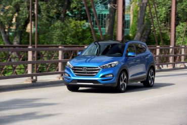 The 2016 Hyundai Tucson is a sharp looking compact SUV that's very roomy inside.