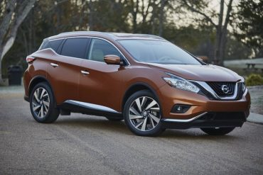 The 2016 Nissan Murano has unique styling with strongly chiseled lines.