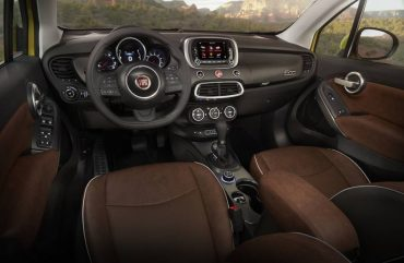 The interior is stylish and comfortable. The thick, contoured steering wheel is excellent.