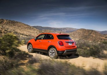The 500X uses the same base platform as the Jeep Renegade, which accounts for its off-road prowess.