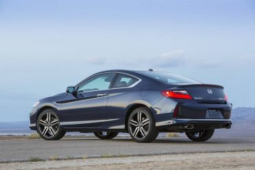 The handsome coupe body is a compromise over the much roomier Accord sedan.