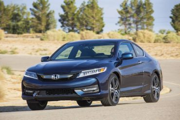 The 2016 Honda Accord is coupe is a fun road car, especially when fitted with the 6-speed manual transmission.