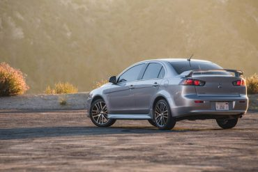The Lancer SEL AWC is one of the most affordable AWD sedans on the market.