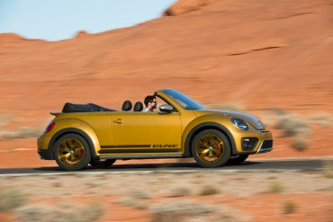 The 2016 VW Dune is a special edition that was designed to evoke memories of classic VW dune buggies.