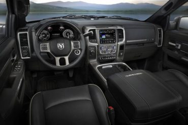 Legroom, headroom, and comfort abound inside the Ram 2500. Interior storage is superior.