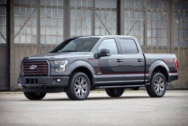 The 2016 Ford F-150 4x4 Supercrew is both handsome and rugged.