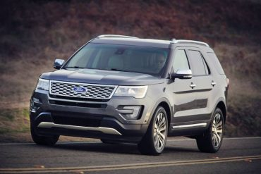 The Ford Explorer Platinum Edition is the most luxurious, best equipped version of the popular SUV.