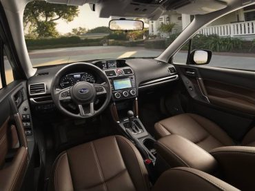 Forester front seat room, comfort, ease of controls, and overall quality are all great.