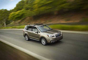 The 2017 Subaru Forester Touring is a sensibly sized do-anything crossover/station wagon.