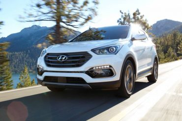 The 2017 Hyundai Santa Fe Sport is a handsome 5-passenger SUV with excellent road manners.