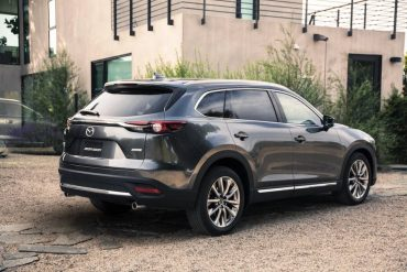The Mazda CX-9 is one of the better looking big SUVs  on the market.