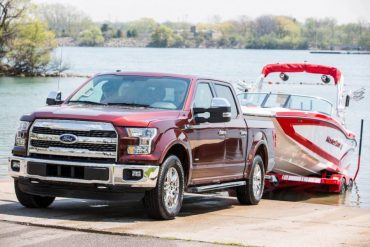 The Ford F-150 can be equipped with several great features to ease trailer towing.